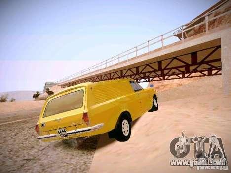 GAZ-24 Volga 02 Van for GTA San Andreas back left view