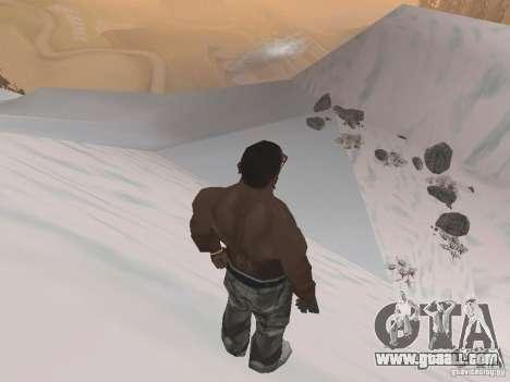 Winter for GTA San Andreas ninth screenshot