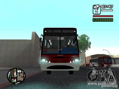 Induscar Caio Apache OH-1621 for GTA San Andreas inner view
