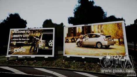 Realistic Airport Billboard for GTA 4 third screenshot