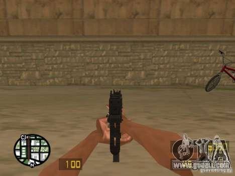 UZI for GTA San Andreas forth screenshot