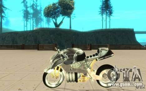 New NRG Chrome version for GTA San Andreas left view