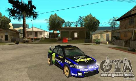 Subaru Impreza STi WRC wht2 for GTA San Andreas side view