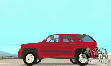 Chevrolet Tahoe 1992 for GTA San Andreas left view