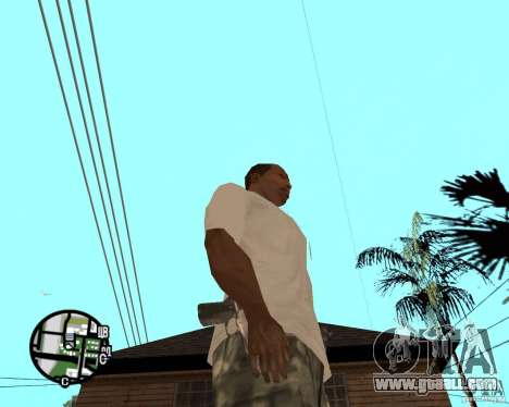 Normal hands CJâ for GTA San Andreas second screenshot