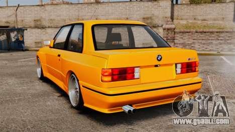 BMW M3 E30 v2.0 for GTA 4 back left view
