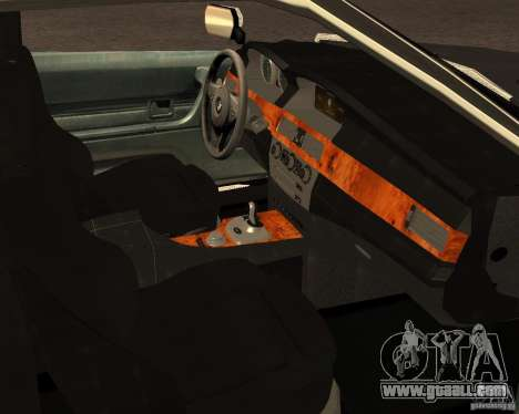 BMW M6 E24 for GTA San Andreas side view