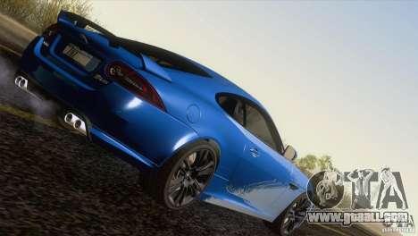 Jaguar XKR-S 2011 V1.0 for GTA San Andreas