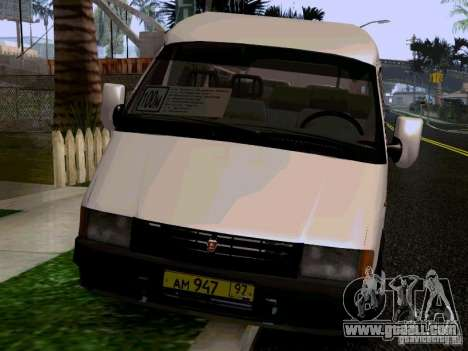 Gazelle 32213 1994 for GTA San Andreas back view