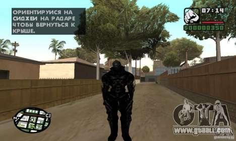 Alex Mercer v2 for GTA San Andreas