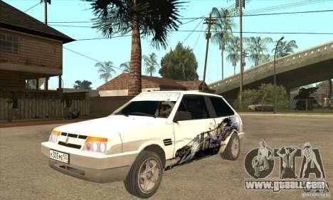 VAZ 2108 Tuned for GTA San Andreas