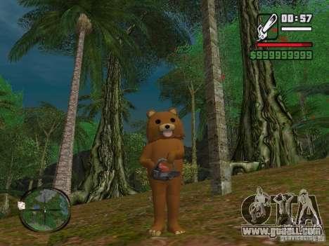 Crazy Bear for GTA San Andreas