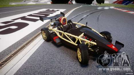 Ariel Atom 3 V8 2012 for GTA 4 inner view