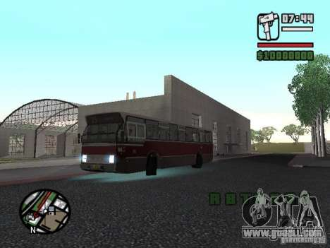 DAF CSA 1 City Bus for GTA San Andreas back left view