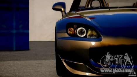 Honda S2000 for GTA 4 back left view