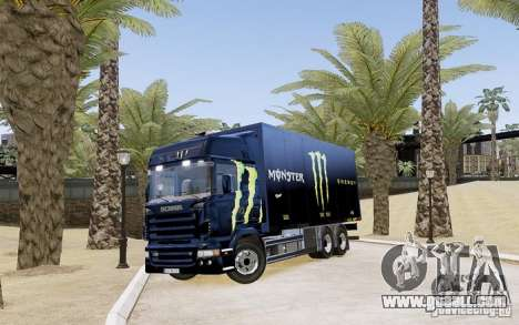 Scania R580 Monster Energy for GTA 4