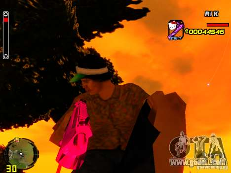 Hello Kitty weapon for GTA San Andreas second screenshot