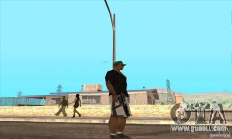 WEAPON BY SWORD for GTA San Andreas forth screenshot
