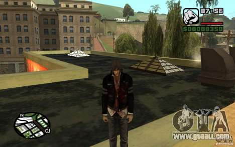 Alex Mercer v2.0 for GTA San Andreas second screenshot