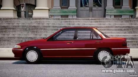 Mercury Tracer 1993 v1.0 for GTA 4 left view