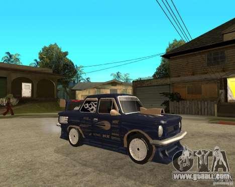 ZAZ-968 m STREET tune for GTA San Andreas right view
