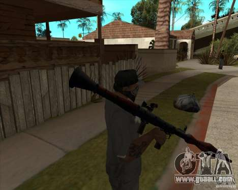 Resident Evil 4 weapon pack for GTA San Andreas forth screenshot