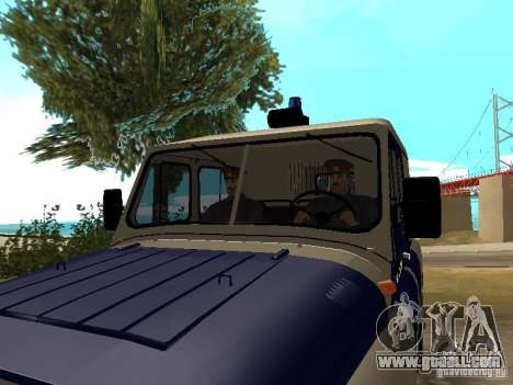 Police Of The USSR for GTA San Andreas third screenshot
