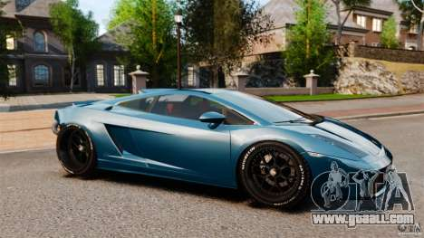 Lamborghini Gallardo Twin Turbo Kit for GTA 4 left view