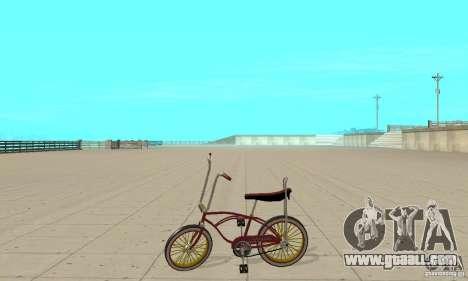 CUSTOM BIKES BIKE for GTA San Andreas left view