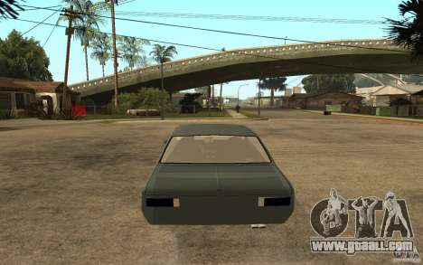 Chevrolet Cheville for GTA San Andreas back left view