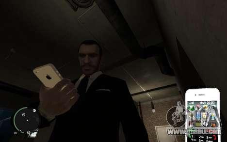 Iphone 4G for GTA 4 forth screenshot