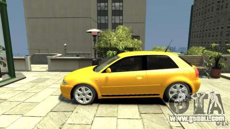 Audi S3 for GTA 4 left view