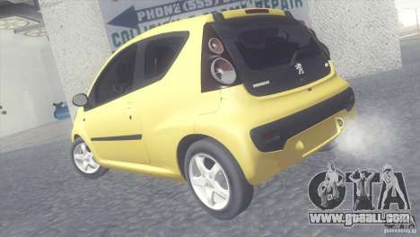 Peugeot 107 2011 for GTA San Andreas left view