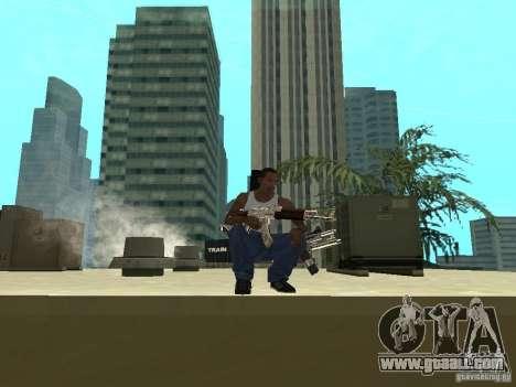Weapons Pack for GTA San Andreas seventh screenshot