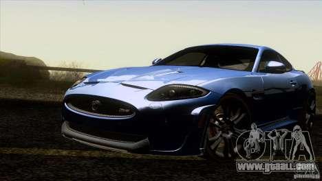 Jaguar XKR-S 2011 V1.0 for GTA San Andreas bottom view