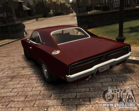 Dodge  Charger 1969 for GTA 4 side view