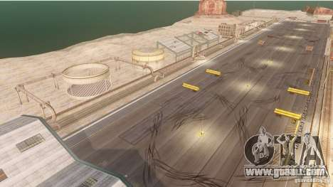 Nevada Drift Map for GTA 4 forth screenshot