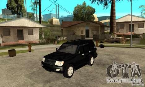 Toyota Land Cruiser 100vx v2.1 for GTA San Andreas left view