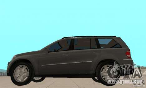 Mercedes-Benz GL500 for GTA San Andreas back left view
