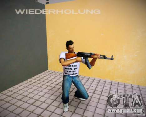 AK-47 for GTA Vice City second screenshot