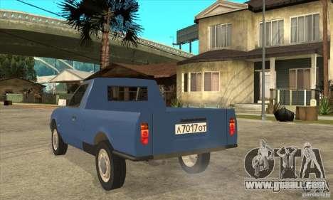AZLK 2335 for GTA San Andreas back left view