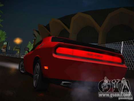 Dodge Challenger SRT8 v1.0 for GTA San Andreas side view