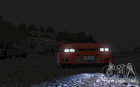 Nissan Skyline for GTA 4 back left view