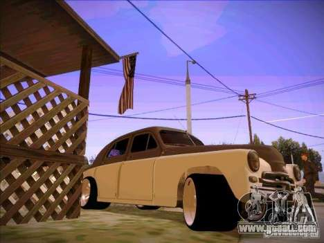 GAZ m 20 Winning 1956 for GTA San Andreas right view
