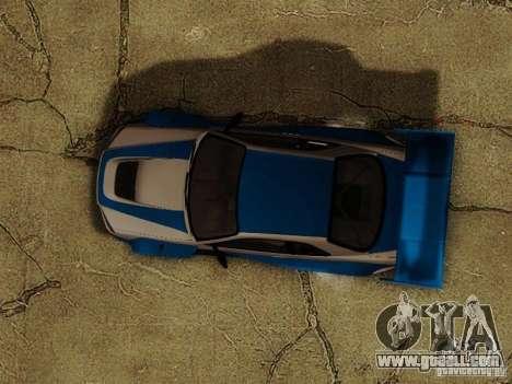 Nissan Skyline GTR34 DTM for GTA San Andreas side view