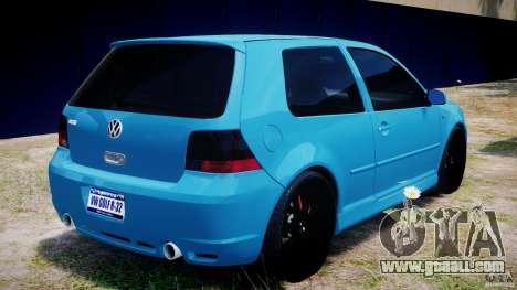 Volkswagen Golf IV R32 v2.0 for GTA 4 interior