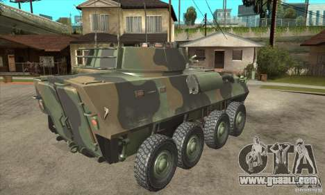 LAV-25 for GTA San Andreas right view