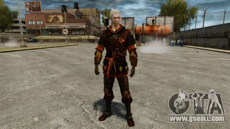 Geralt of Rivia v4 for GTA 4