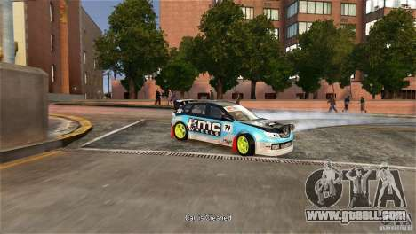 Subaru Impreza WRX STI Rallycross KMC Wheels for GTA 4 right view