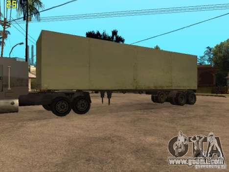 Nefaz 93344 trailer for GTA San Andreas